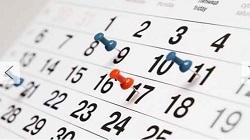 Calendario Acad�mico 2020
