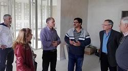 El rector de la Universidad visit� el Polo Educativo