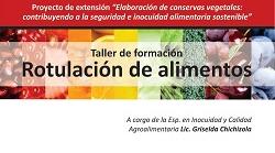 Formaci�n en Rotulaci�n de Alimentos