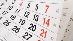 Modificaciones del Calendario
