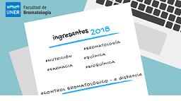 INGRESO 2018 Inscripciones Abiertas